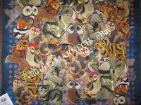 10302-14 Batiste scarf Natural Cotton small neckerchief Authentic Pavlovo Posad