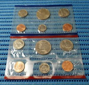 The United States Mint 1994 Uncirculated Coin Set with D and P Mint Marks