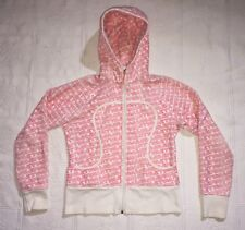 LULULEMON ATHLETICA SCUBA HOODIE FULL ZIP ATHLETIC SWEATSHIRT JACKET 6 PINK