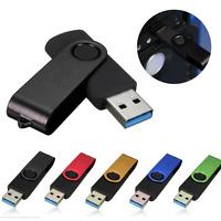 128GB Swivel USB 3.0 Flash Drive Memory Thumb Stick Storage Disk U Disk Pen Lot