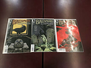 DARK HORSE COMICS BALTIMORE THE WITCH OF HARJU 1 2 3 (of 3)