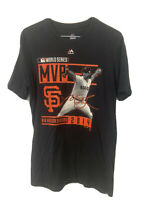 Madison Bumgarner 2014 World Series MVP T-Shirt Size XL SF Giants