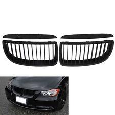 E90 E91 Front Kidney Grill Grilles for BMW Saloon 05-08 325i 328i 335i 4D Black
