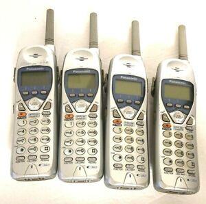 Lot of 4 PANASONIC Handset Phones KX-TGA270S KX-TGA270 FOR KX-TG2740 KX-TG2730