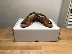 Bertie London Tan/Brown Leather Roman Sandals! Used! Size UK5! Only £39.90!!!