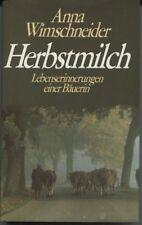 Anna Wimschneider - Herbstmilch
