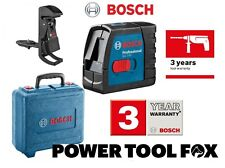 Bosch GLL2-15 BM3 Cross Line Laser Level & Montaje en Pared 06159940FH 3165140839808