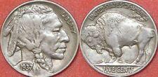 Very Fine 1937P US Buffalo 5 Cents