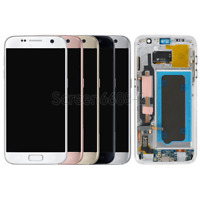 Pour Samsung Galaxy S7 G930F Complet Ecran LCD Vitre Tactile sur chassis+Tool