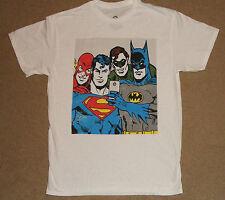 DC Justice League Group Selfie Shirt Medium Licensed