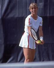 1982 Tennis Pro MARTINA NAVRATILOVA Glossy 8x10 Photo Poster