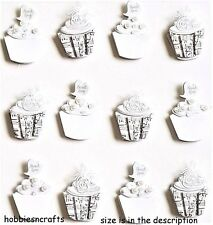 EK SUCCESS JOLEE'S BOUTIQUE 3-D STICKERS - MARRIAGE WEDDING CUPCAKE REPEATS