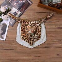 Men's Leopard Thongs Lingerie Jungle Male Panties G-string Loincloth Underwear