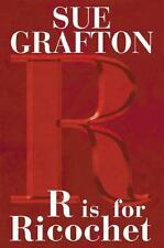 R Is for Ricochet Sue Grafton hardcover book first ed. & printing; author signed