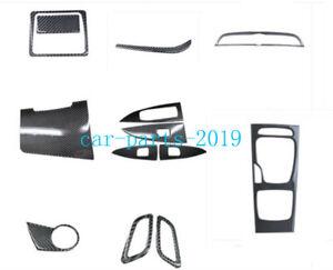 Real Carbon fiber Interior Kit Decor Panel Cover trim For Buick Regal 2018-2020