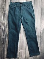 Levi's 505 Women's Stretch Jeans ~ Size 10 ~ Dark Teal ~ Straight Leg  Mid Rise