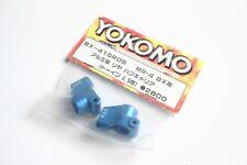 Yokomo MR-4 BX Aluminium / Alloy 0.5 Degree Rear Hub Carrers - BX-415R05 MR4BX
