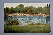 R&L Postcard: Head Weir Open Air Bathing Place Exeter 1907