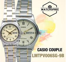 Casio Couple Watch LTPV006SG-9B MTPV006SG-9B