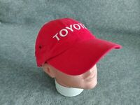 CFS NASCAR Toyota Racing Team Men's Embroidered Strapback Cap Hat Red One Size