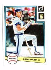 Robin yount 2016 PANINI DONRUSS, 1982 diseño, Baseball cartas