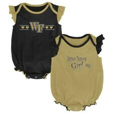 Wake Forest University Creeper 2 Pack Homecoming Bodysuit Set