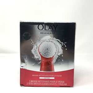 Olay Regenerist Facial Cleansing Brush Exfoliator with 2 Brush Heads