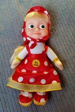 Mascha -aus Mascha und der Bär- sprechendes Plüschtier/Puppe