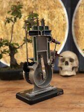 Vintage 4 STROKE SINGLE CYLINDER DIESEL ENGINE cutaway educational model by HEMA