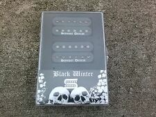 Brand New Seymour Duncan Black Winter Set Black 6 String Humbucker Pickups