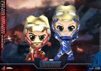 Hot Toys COSBABY Avengers Endgame COSB667 MK85 & Rescue Armor Open Helmet Toys