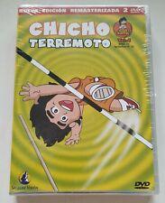 CHICHO TERREMOTO Dash Kappei Vol 4 ANIME 2x DVD Serie TV NEW Sealed Chap 25 - 32