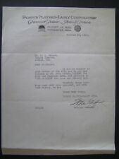 Movie Letterhead Famous Players 1920 The Hayseed Roscoe Fatty Arbuckle B Keaton
