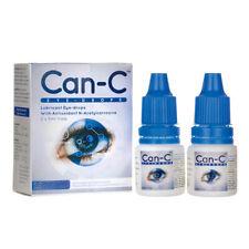 CAN-C Eye Drops 2 x 5ml (Lubricant Eyedrops With N-Acetylcarnosine)