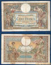 100 Franken Luc Olivier Merson Typ 1906 mit LOM 29/6/1908 X.301 sg