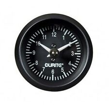 "Land Rover Series 1 2 2a 3 Durite Dash Panel 2"" Auxiliary Analogue Clock Gauge"
