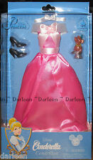Disney Store Parks Cinderella doll Costume dress fashion gown clothes Pink