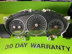 2004-2008 CHRYSLER CROSSFIRE INSTRUMENT SPEEDOMETER CLUSTER 193 542 01 01 OEM