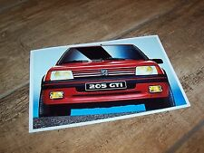 Photo de presse / Press Photograph PEUGEOT 205 GTI  //