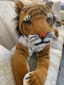 "Melissa and Doug Jumbo Bengal Tiger #2103 Extra Large 67"" Plush, New With Tags"