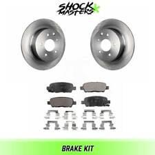 Rear Ceramic Brake Pads & Rotors Kit for 2002-2018 Nissan Altima