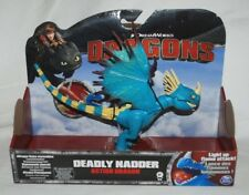 Dreamworks Dragons Deadly Nadder Action Dragon with Light Up Flame BNIB
