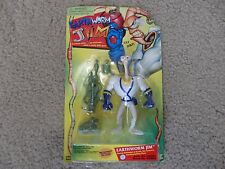 Earthworm Jim Spring loaded real firing Jim Head MOC Plasma blaster Snott Crow
