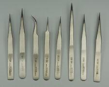 Pinzas Set X8 Relojeros herramientas de alta calidad Reparaciones Partes