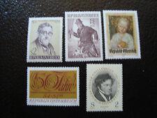 AUTRICHE - timbre - yvert et tellier n° 1206 a 1210 n** - stamp austria (A3)