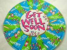 """NEW 18"""" Get Well Soon Mylar Foil Balloon Medical Hospital Doctor Terms"""