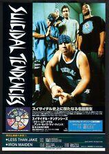 2000 Suicidal Tendencies Free Your Soul JAPAN album promo ad /mini poster advert