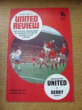 31/01/1970 Manchester United v Derby County  (Rusty Staples)