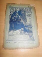 REVUE Science Arts Nature et La Vie Scientifique N°79 Mai 1903 LE HAVRE PAPOU