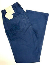 *NWT Liz Claiborne Embroidered Slim w/ Flared Leg Jeans sz 4-Org $79